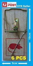 8 PCS 10 cm x 5 cm Wooden Mouse /  Rat Trap Fast Delivery .