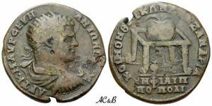 AC&B-449. Roman Provincial. Caracalla augustus, 198-217. Bronze