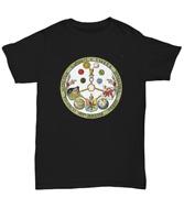 Masonic esoteric shirt - V.I.T.R.I.O.L. formula VITRIOL motto - Freemason symbol
