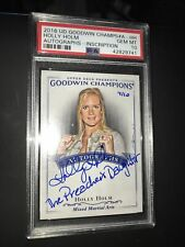 HOLLY HOLM AUTO 2016 UD Goodwin 1:500K POP 1! SPP /10 PREACHERS DAUGHTER PSA 10