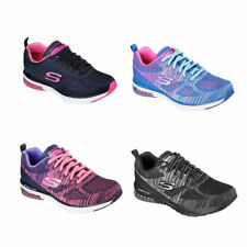 Skechers Lace Up Textile Trainers for Women