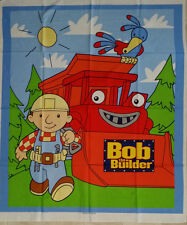 Brand New Bob The Builder Cot Quilt Panel