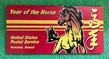 Lunar New Year of the Horse 34c Stamp FDC RARE ITEM Hawaii 2002 Cover & GIFT