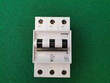 Siemens 5SX1 Circuit Breaker 3 Pole 4 Amp Type G MCB