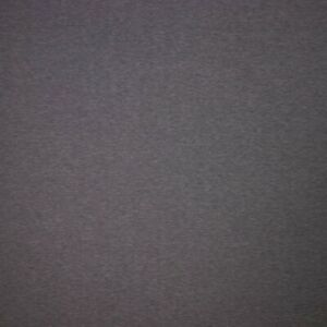 Solid Colour Bamboo Jersey Fabric - Dark Grey Melange - Per Metre