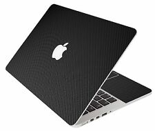 LidStyles BLACK CARBON FIBER Laptop Skin Decal MacBook Pro 13 A1278