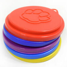 5pcs Durable Plastic Lids For Opened Cans Food Canned Goods Pets Dogs Cats Puppy