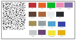 Dinosaur   Nail Stickers Several colours to choose from
