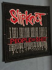 """Slipknot Embroidered Iron/Sew ON Patch 2.75""""x3"""" Rock Metal Music People = Sh*t"""
