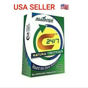 60 caps C24/7 Natura-Ceuticals Food supplements by Nature's way USA