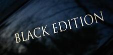Aufkleber Black Edition VW Auto CAR Style Sticker Tuning Racing JDM Viele Farben