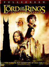 The Lord of the Rings: The Two Towers (Dvd, 2003, 2-Disc Set, Full Frame Two.