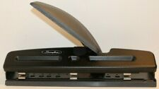 Swingline 3 Hole Punch w/ Light Touch Lever & Built in Ruler - Adjustable