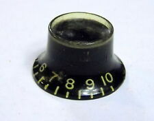 1962 Gibson Top Hat Knob Black For Les Paul SG Custom Original USA 1961 1964 335