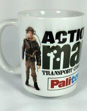 Vintage action man transport command cadeau mug