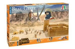 Italeri 1/72 Beau Geste Algerian Touareg Revolt 1877-1912 Battle Set # 6183