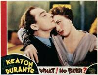 OLD MOVIE PHOTO What No Beer Lobby Card Left Buster Keaton 1933