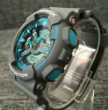 CASIO G SHOCK GA-110TS-8A2ER GREY&BLUE XLARGE ANALOGUE&DIGITAL BRAND NEW