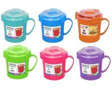 Sistema Klip It Microwave Soup To Go Mug, 656ml, Assorted Colours