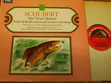 ASD 2328 SCHUBERT LA TROTA QUINTETTO/Melos Ensemble S/C