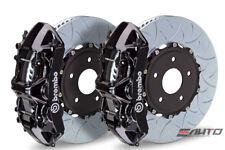 Brembo Front GT Brake 6Pot Caliper Black 350x34 Type3 Slot Disc for STi 05-14
