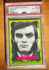 1969 Dark Shadows Trading Card #45 Quentin Psa 6 Green Set Ex - Mt Psa6 Tv Show