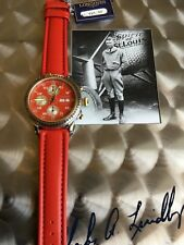 Longines Watch For Men's 	(red)