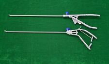 2pc Laparoscopic Needle Holder Gun Typeethicon Type Straight Jaw 5mmx330mm