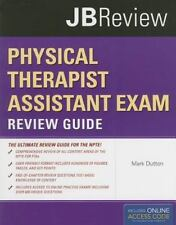 Physical Therapist Assistant Exam by Mark Dutton (2011, Hardcover, Study Guide)