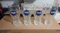 SAM SAMUEL ADAMS SET OF 4 COLORED LOGO 16 OUNCE PINT GLASSES BRAND NEW
