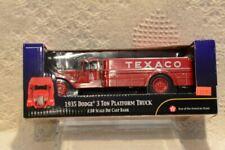 Texaco 1935 Dodge 3 Ton Platform Truck Ertl Diecast Bank 19th in Series