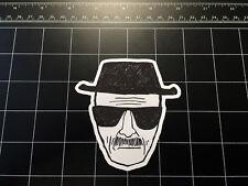 Breaking Bad Heisenberg sketch vinyl decal / sticker Walter White *Best avail!*