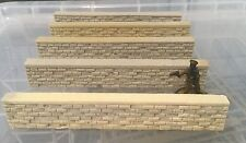 28mm Bolt Action 6 x Brick Wall Sections Faces of War