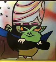 Original Graffiti/Pop Art Painting,Signed,W/COA,Tabsch,12X12,Rare,Power Puff