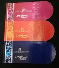 3 pcs Affin Bank Group raya deepavali diwali red packets packet ang pow new