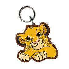 Genuine Disney The Lion King Simba Rubber Keyring Key Ring Fob Keychain Gift