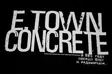 S * NOS vtg 2003 E TOWN CONCRETE Battle Lines t shirt * hardcore