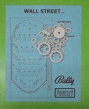 1974 Bally Wall Street pinball / bingo rubber ring kit
