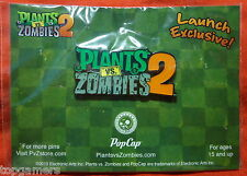 PLANTS vs ZOMBIES 2 - Launch Exclusive - Promo Pin San Diego Comic Con SDCC 2013