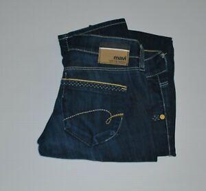 Mavi white edge Lindy blue denim jeans Size 28/34