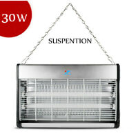 Electronic Indoor Insect Mosquito Fly Killer Bug UV Lamp Zapper Control 30 Watts
