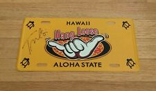 Tulsi Gabbard 2020 President Candidate Autograph Signed Hawaii License Plate