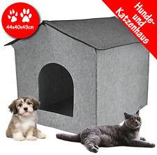 Hundehaus Hundehütte Katzenhöhle Katzenhaus Hundebett Haustier Höhle aus Filz