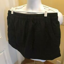 The North Face Womens Black Classic V Skort Skirt Builtin Shorts size Xl tennis