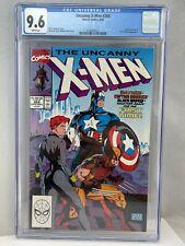 X-Men #268 CGC 9.6 NM+ Marvel Comics 9/90 1990 WP Black Widow Captain America
