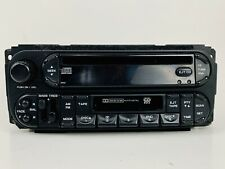 2002-2007 DODGE RAM 1500 2500 3500 CARAVAN CD CASSETTE RADIO STEREO w/ RDS RAZ