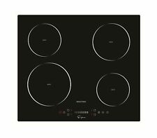 """Empava Electric Induction Cooktop 4 Booster Burners Smooth Surface Black 24"""" New"""