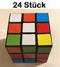 24x Zauberwürfel Magic Cube 3x3 Puzzle Würfel Spielwaren Posten Sonderposten Neu