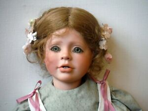 """Beautiful Vintage Artist Doll by Elaine Sargent 1991 20"""" Tall Tiffany P1499"""
