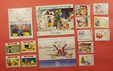2 Disney Sets + S/S Uganda + Grenadines Of St. Vincent Mint Never Hinged